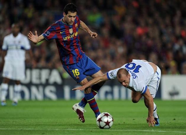 Sneijder in equilibrio precario (Getty Images)