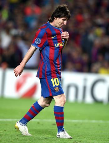Messi perplesso (Lapresse)