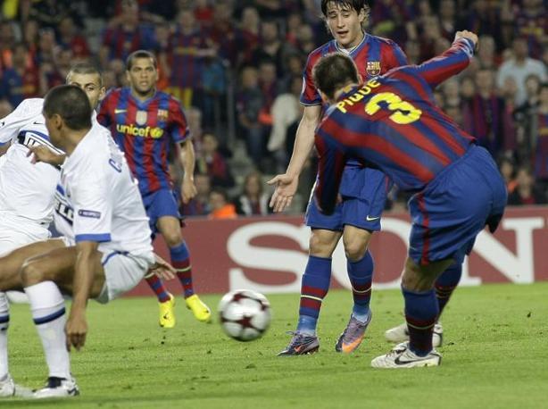 ... e sigla il gol dell'1 a 0 (Reuters)