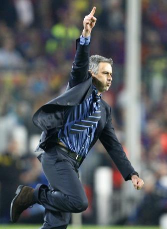 La gioia di Mourinho (Ap)