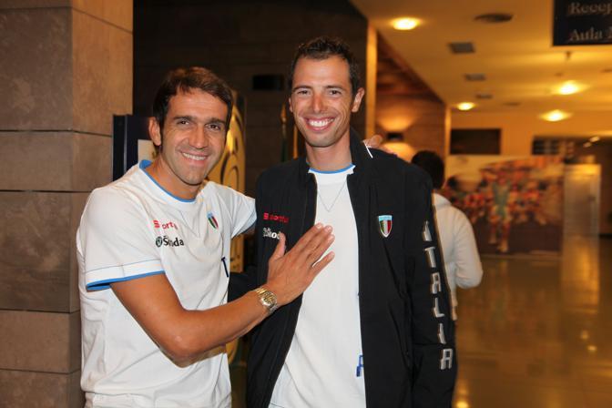 2009: con Alessandro Ballan (foto Bettini)