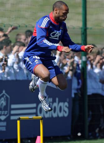 Thierry Henry, Francia (Afp)