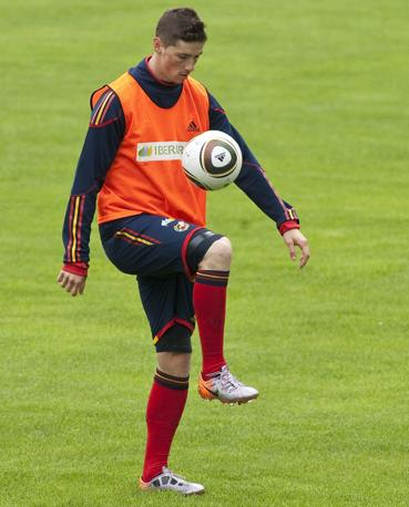Fernando Torres, Spagna (Reuters)