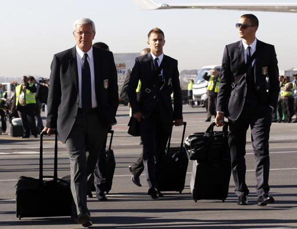 Lippi, Criscito e Bonucci (Reuters)