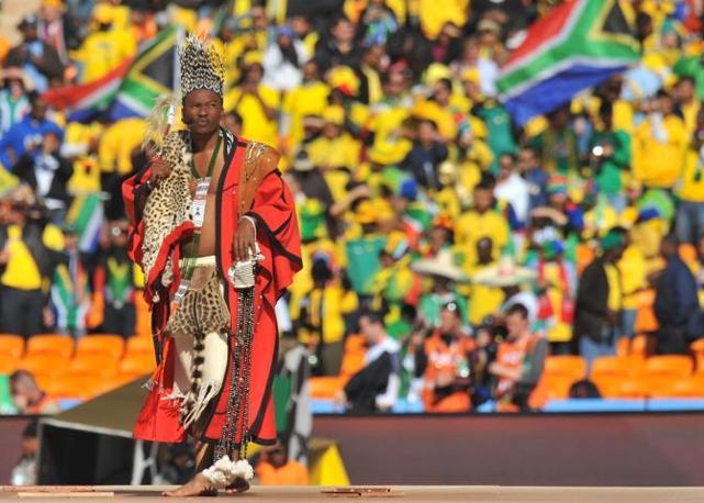 Costumi zulu (Afp/Joe)