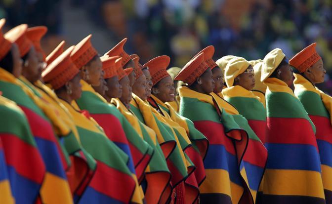 I colori del Sudafrica (Reuters/Romero)