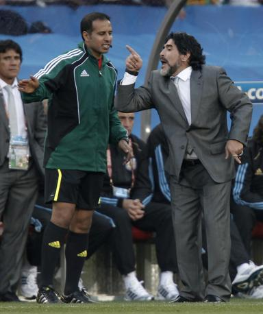 Polemica con il quarto uomo (Reuters/Adnan Abidi)