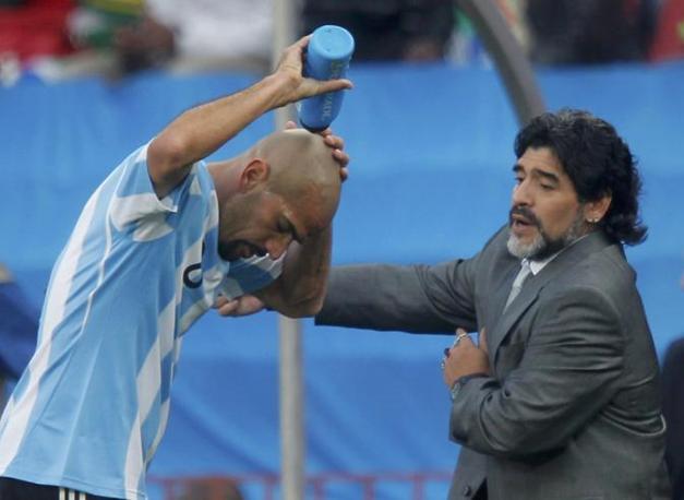 Con Veron (Reuters/Enrique Marcarian)