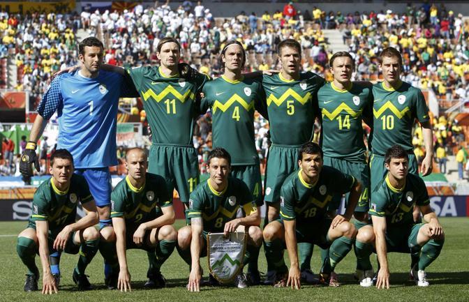 Slovenia-Algeria: la Slovenia prima dell'esordio al mondiale sudafricano (Reuters)