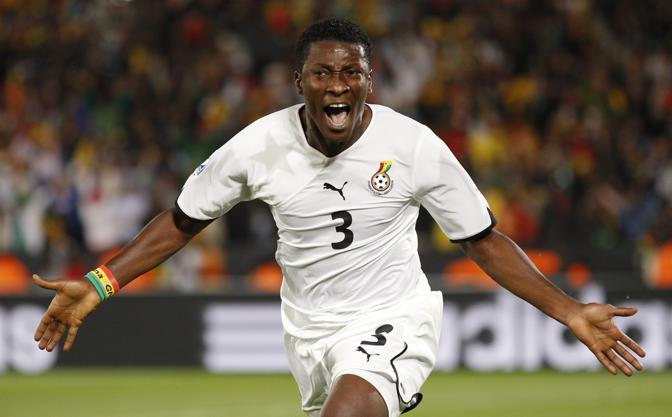 Ghana-Serbia: L'esultanza del giocatore (Ap)