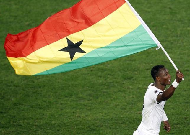 Ghana-Serbia: Al triplice fischio, è festa per il Ghana (Ap)