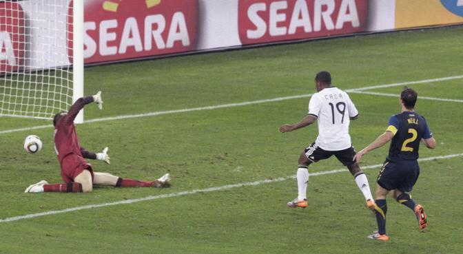 Germania-Australia: c'è gloria anche per il «brasiliano» Cacau (Reuters/Rogan Ward)