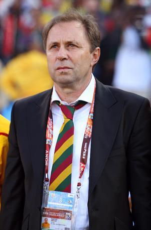 Milovan Rajevac, ct del Ghana (Epa)