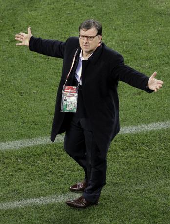 Il tecnico del Paraguay Gerardo Martino (Ap)