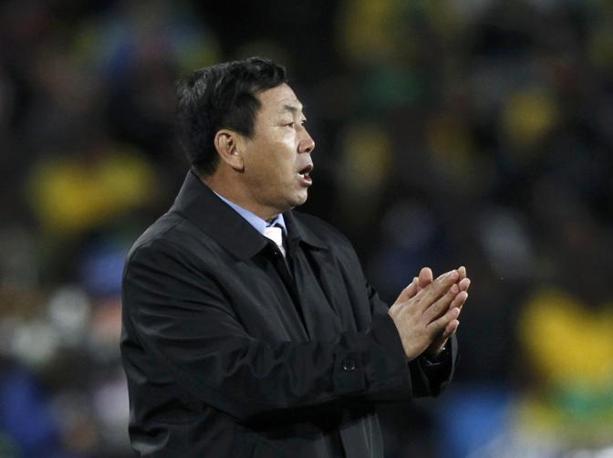 Il ct della Corea del Nord, Kim Jong-hun (Reuters)