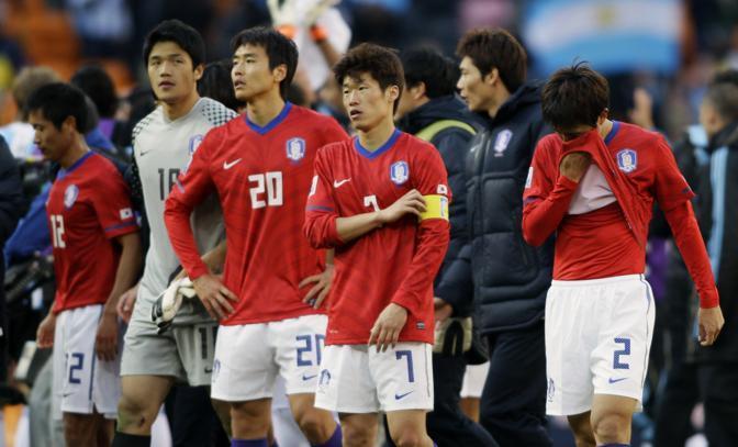 Argentina-Corea del sud: la delusione dei sudcoreani  (Ap/Ivan Sekretarev)