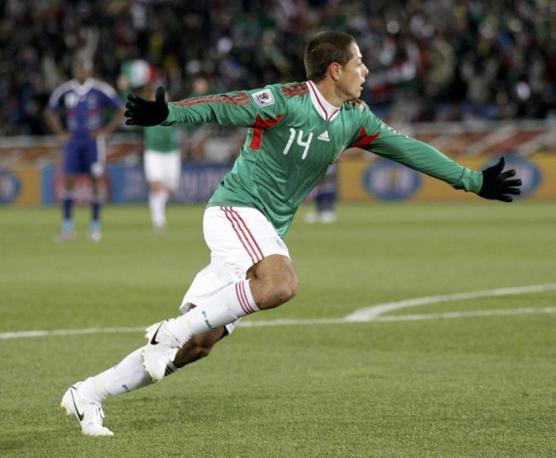La gioia del messicano (Reuters)