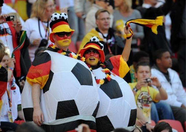 Germania-Serbia 0-1: tifosi tedeschi (Epa)