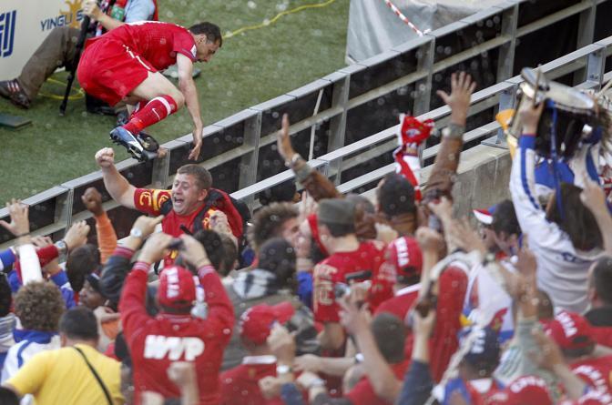 Germania-Serbia 0-1: la gioia di Jovanovic (Reuters)