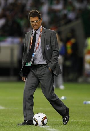 Inghilterra-Algeria 0-0: Fabio Capello adesso dovrà difendersi dagli attacchi della stampa inglese (Ap)