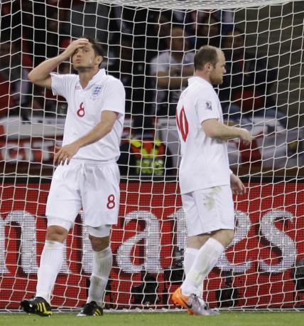 Inghilterra-Algeria 0-0: Frank Lampard e Rooney a secco (Ap)