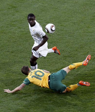 Ghana-Australia 1-1: Kewell, a terra, e Mensah (Reuters)