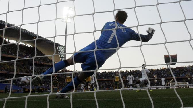 Ghana-Australia 1-1: il gol del pareggio a firma Gyan (Ap)