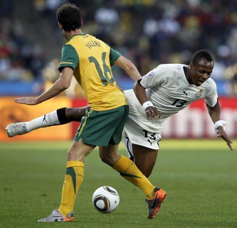 Ghana-Australia 1-1: Ayew e Valeri (Ap)