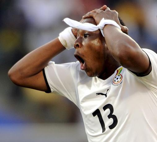 Ghana-Australia 1-1: Ayew (Epa)