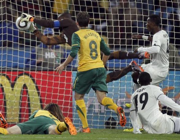 Ghana-Australia 1-1: parata di Kingson (Ap)