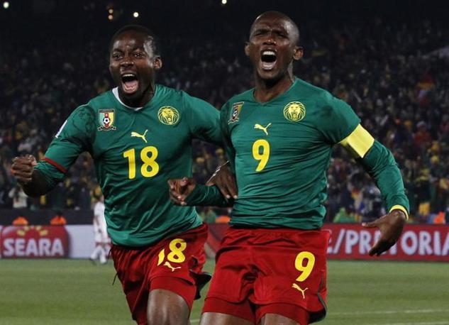 Camerun-Danimarca 1-2: Enoh ed Eto'o (Ap)