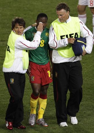 Camerun-Danimarca 1-2: Enoh infortunato (Ap)