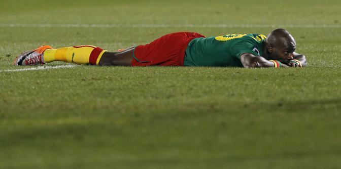 Camerun-Danimarca 1-2: Emana deluso per aver perso una palla gol (Ap)