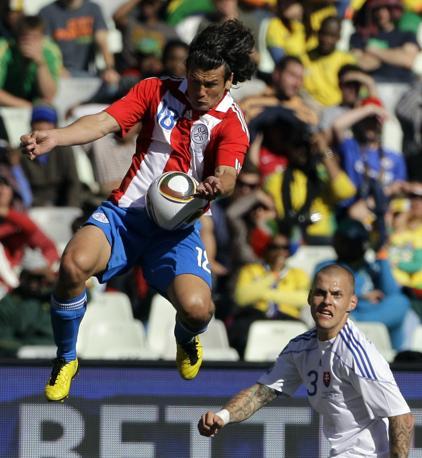 Slovacchia-Paraguay 0-2: Valdez e Skrtel (Ap)