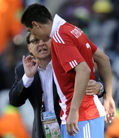 Slovacchia-Paraguay 0-2: il ct Martina parla con Oscar Cardozo (Ap)