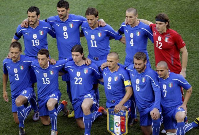 Italia-Nuova Zelanda: la formazione italiana (Ap)