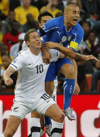 Italia-Nuova Zelanda: Cannavaro anticipa Killen (Ap)