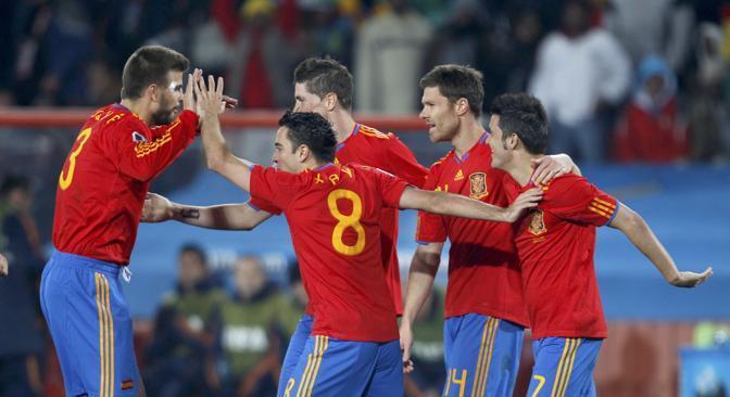 La festa spagnola (Reuters)