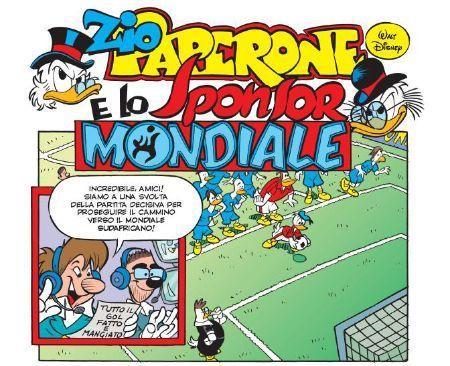 Zio Paperone e lo sponsor mondiale, di Carlo Panaro e Alessandro Perina