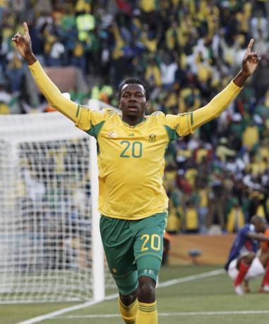 Francia-Sudafrica 1-2: Khumalo (Reuters)