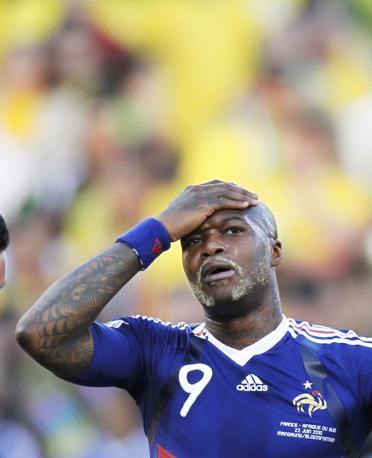 Francia-Sudafrica 1-2: Cissé (Reuters)