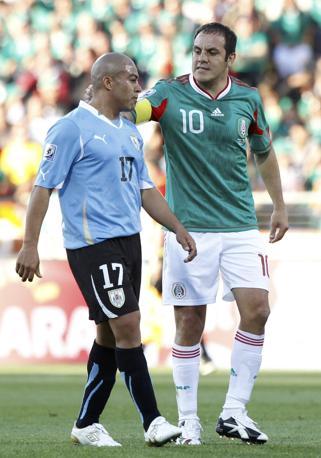 Messico-Uruguay 0-1: Blanco e Arevalo (Reuters)