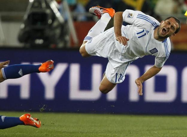 Grecia-Argentina 0-2: Loukas Vyntra (Ap)