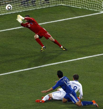 Grecia-Argentina 0-2: un salvataggio di Tzorvas (Reuters)