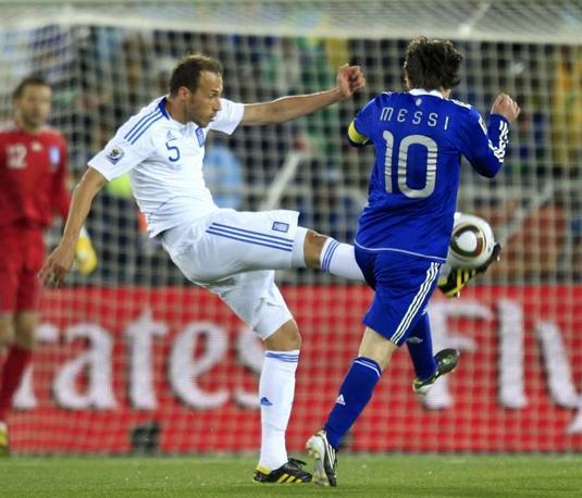 Grecia-Argentina 0-2: Moras e Messi (Reuters)