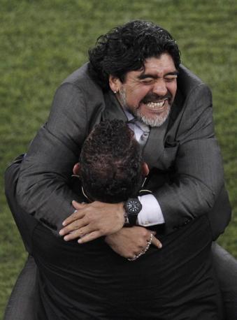 Grecia-Argentina 0-2: Maradona (Ap)