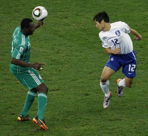 Nigeria-Corea del Sud 2-2: Obasi e Lee Young-Pyo (Ap)