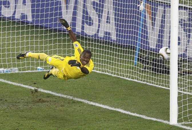 Nigeria-Corea del Sud 2-2: il gol di Park Chu-Young (Reuters)