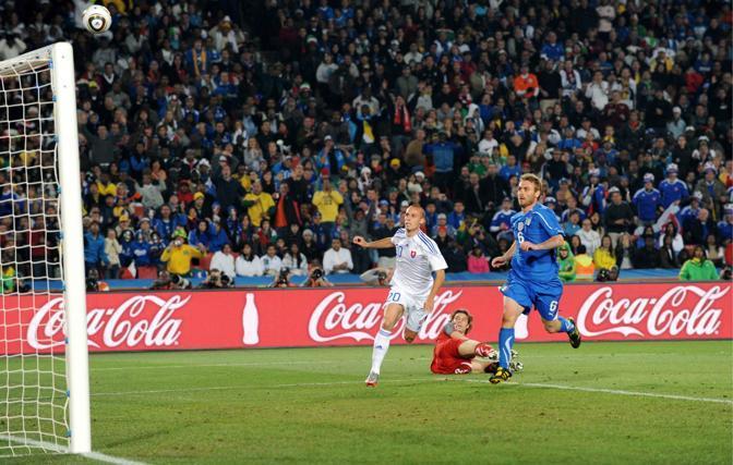 Il gol di Kopunek (Ap)