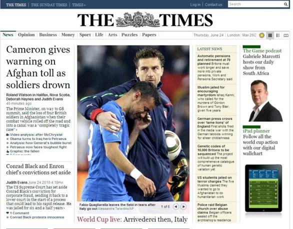 Il britannico Times